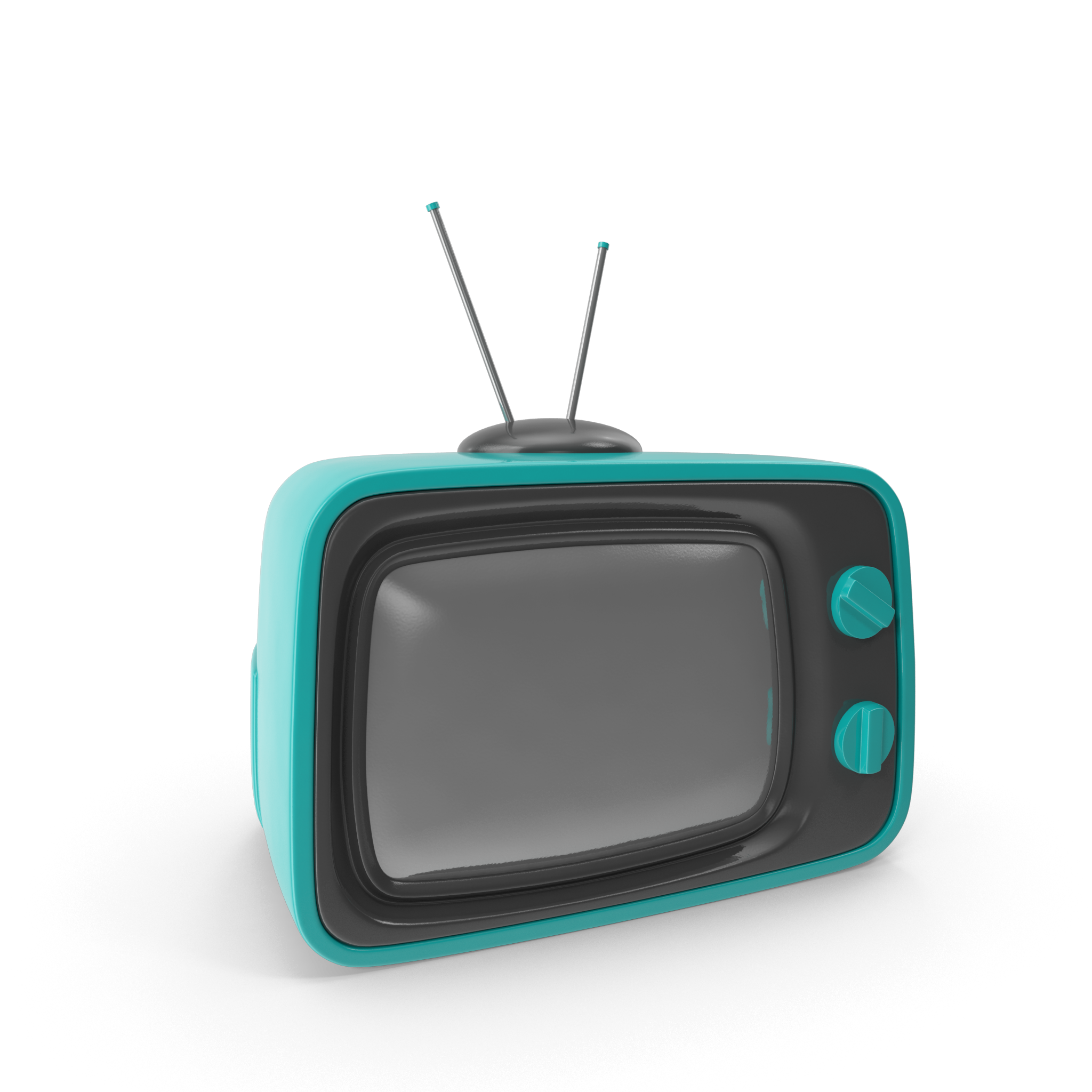Blue Cartoon Television.H16.2k